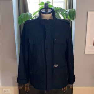 Hurley collaboration with Alpha. Statement jacket!